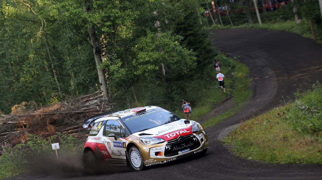 Mads Östberg - Rallye Finnland 2014 - Tag 2- Citroen DS3