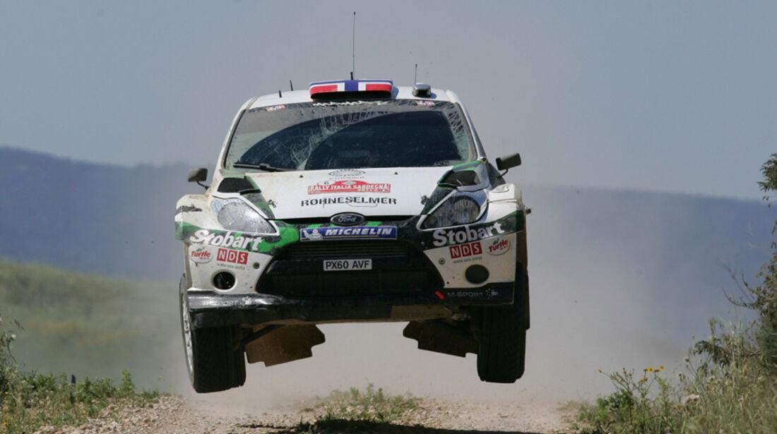 Mads Östberg WRC Rallye Sardinien 2011
