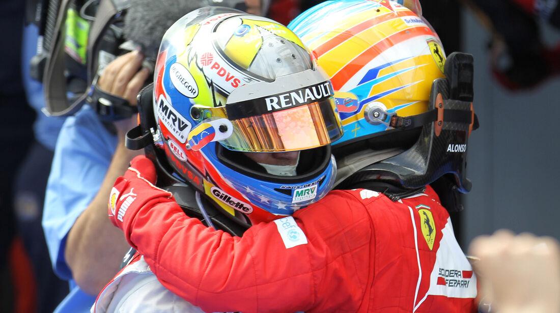 Maldonado & Alonso GP Spanien 2012