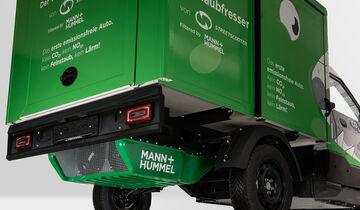 Mann + Hummel Feinstaubfresser DHL Streetscooter