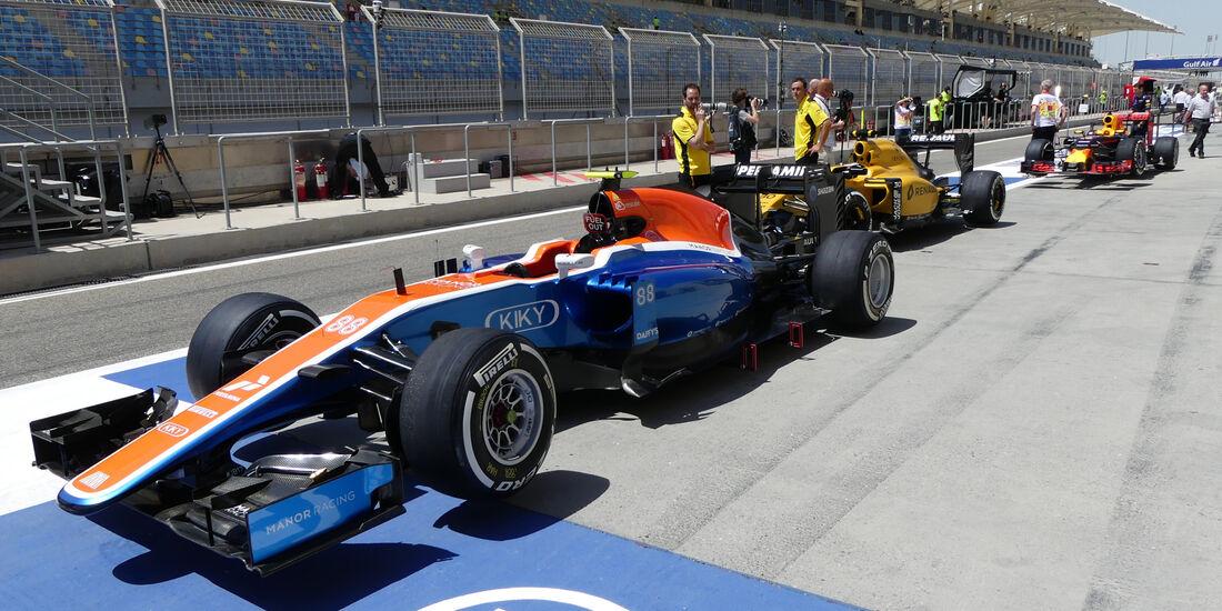 Manor - Formel 1 - GP Bahrain - 2. April 2016