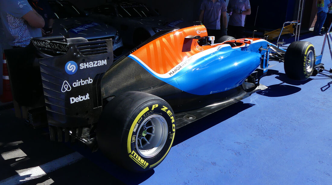 Manor - Formel 1 - GP Belgien - Spa-Francorchamps - 25. August 2016