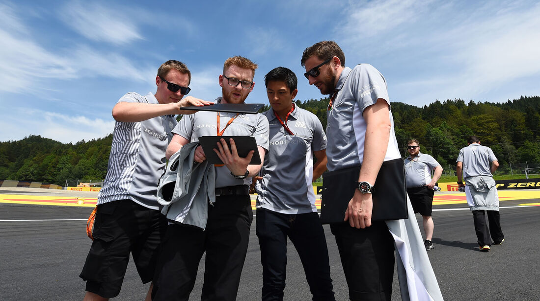 Manor - Formel 1 - GP Österreich - 30. Juni 2016