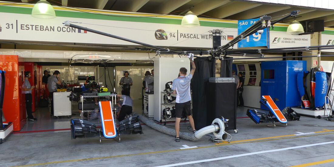 Manor - GP Brasilien - Sao Paulo - Interlagos - Donnerstag - 10.11.2016