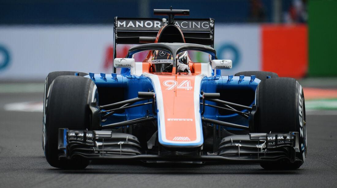 Manor - Halo-Test - Formel 1 - 2016