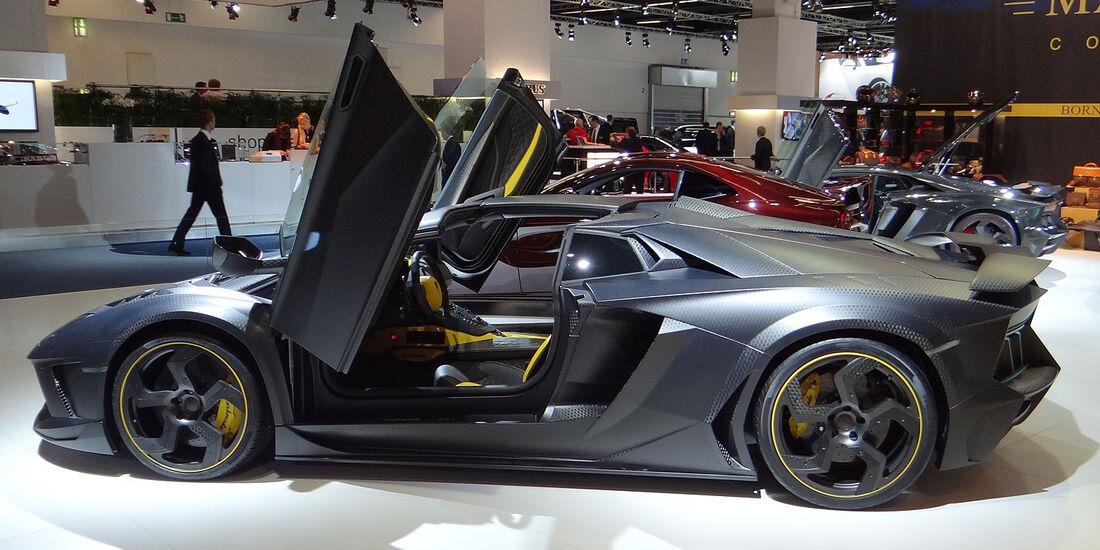 Mansory Carbonado Roadster, Lamborghini Aventador, Tuner