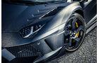Mansory-Lamborghini Aventator Carbonada, Rad, Felge, Bremse