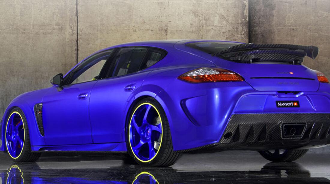 Mansory Porsche Panamera Turbo Heck