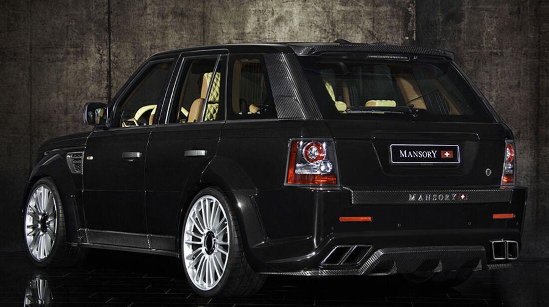 Mansory Range Rover Sport Heck