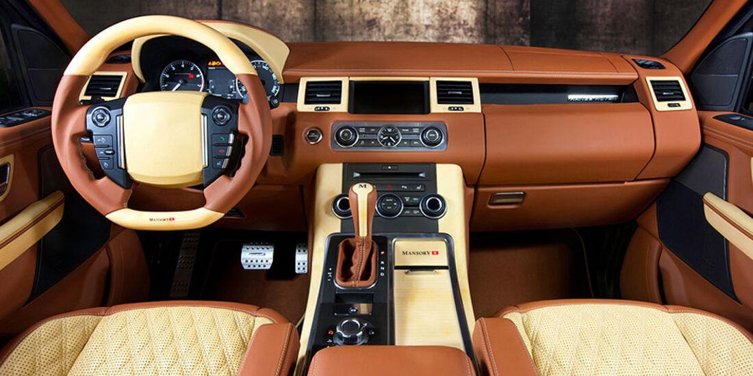 Mansory Range Rover Sport Interieur