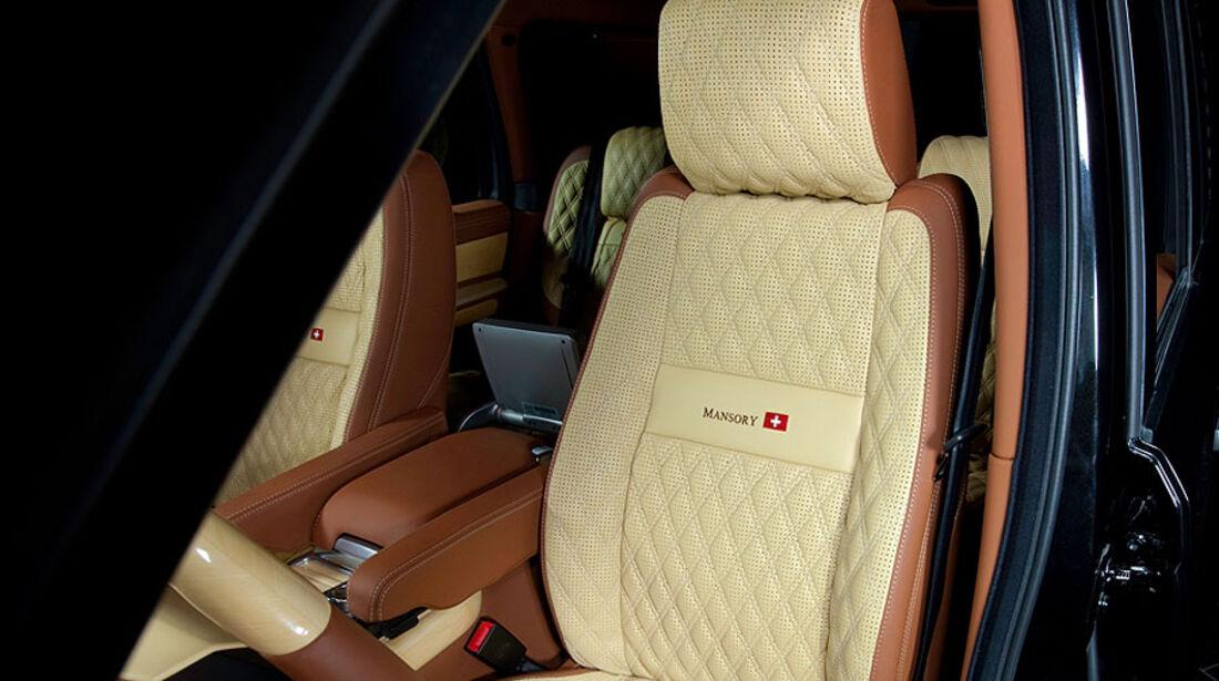 Mansory Range Rover Sport Sitz