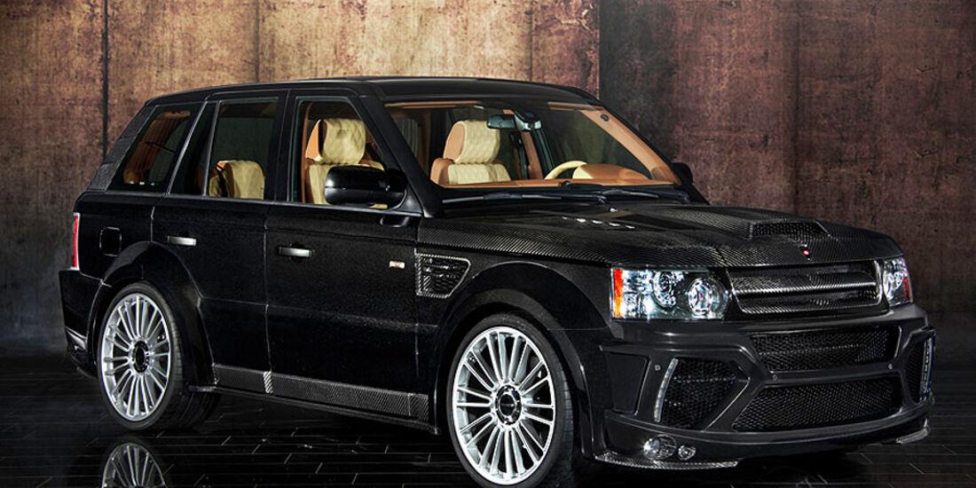 Mansory Range Rover Sport schräg von vorne