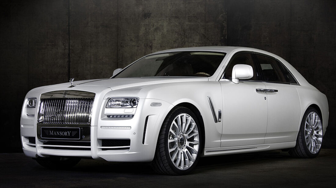 Mansory White Ghost Limited