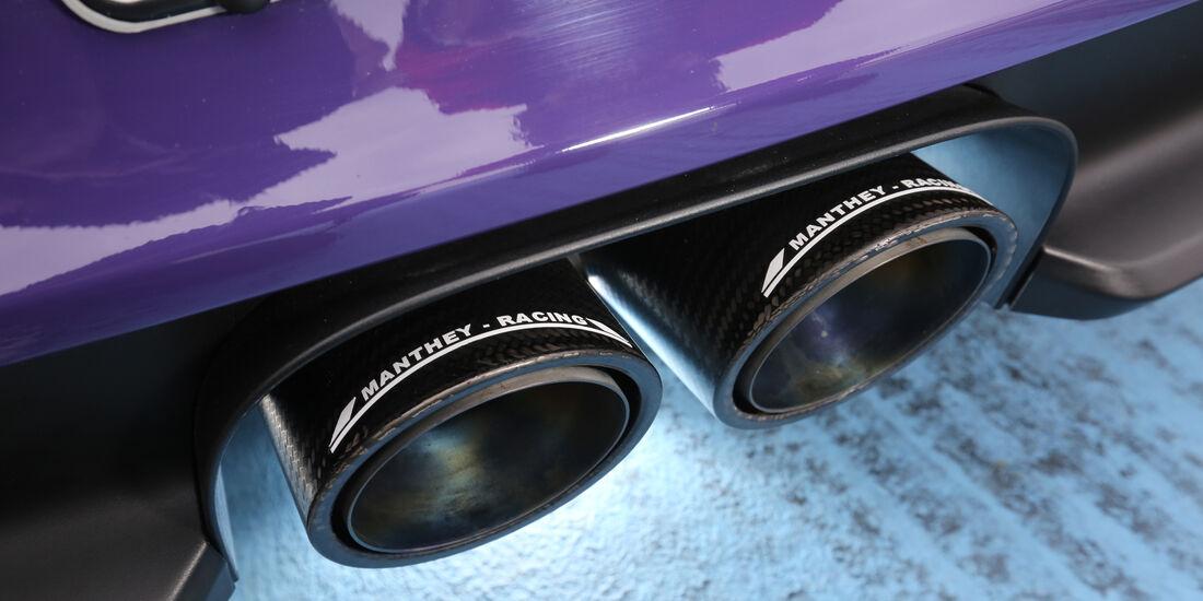 Manthey-Porsche 911 GT3 RS MR, Endrohre