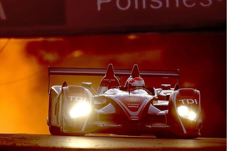 Marco  Werner im  Audi R10  TDI