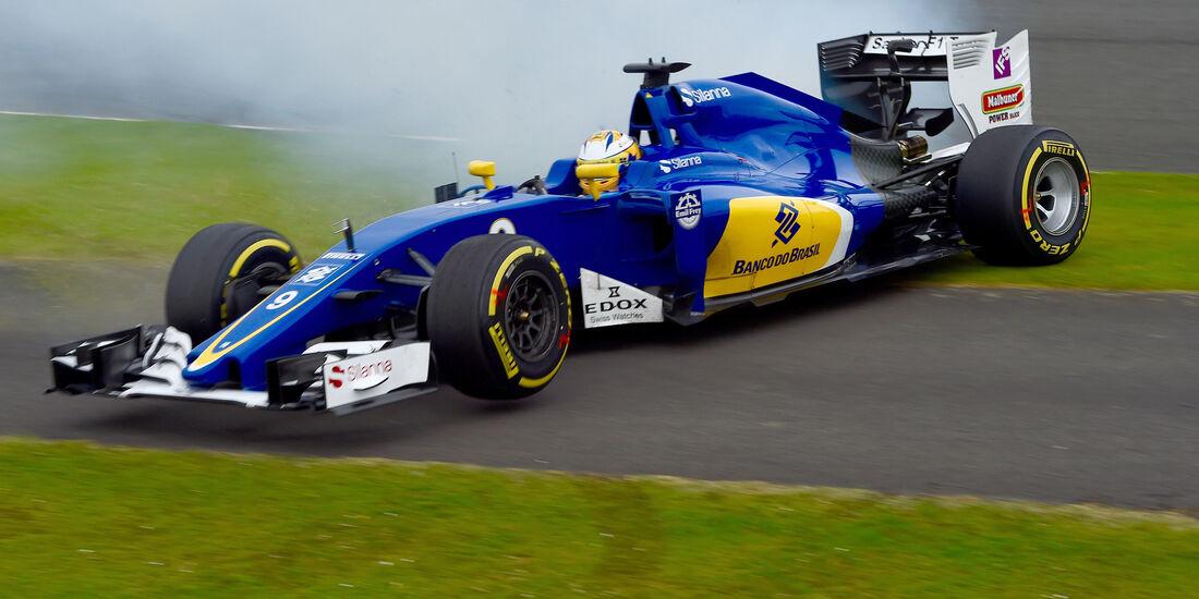 Marcus Ericsson - Formel 1 - GP England 2016