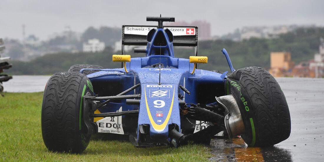 Marcus Ericsson - GP Brasilien 2016