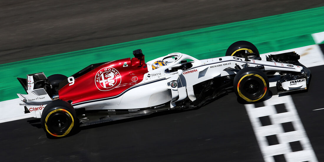 Marcus Ericsson - GP England 2018