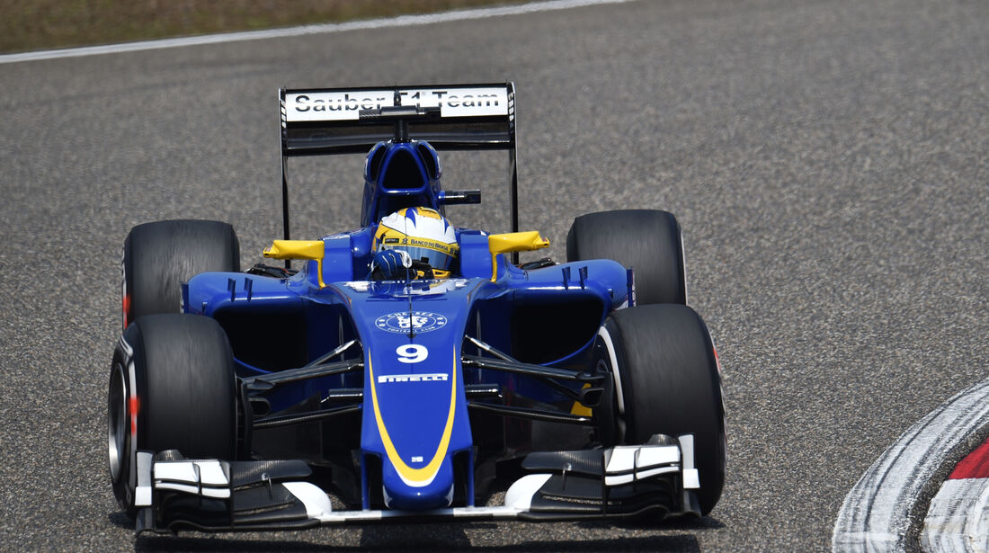 Marcus Ericsson - Sauber - Formel 1 - GP China - Shanghai - 10. April 2015