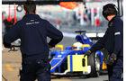 Marcus Ericsson - Sauber - Formel 1-Test - Barcelona - 19. Februar 2015