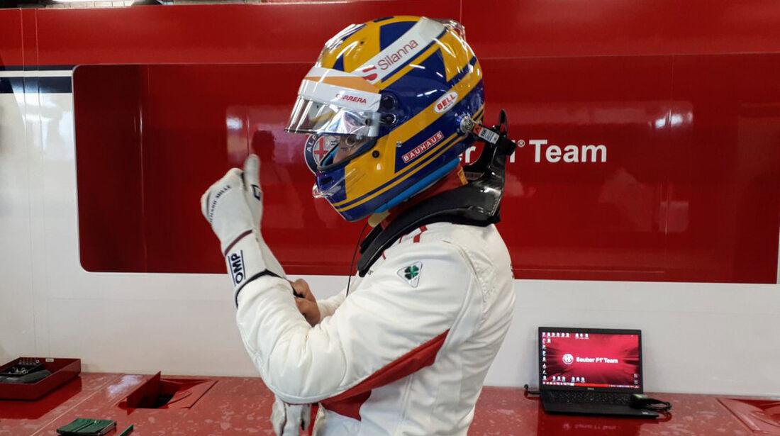 Marcus Ericsson - Sauber - Formel 1 - Test - Barcelona - Tag 3 - 28. Februar 2018