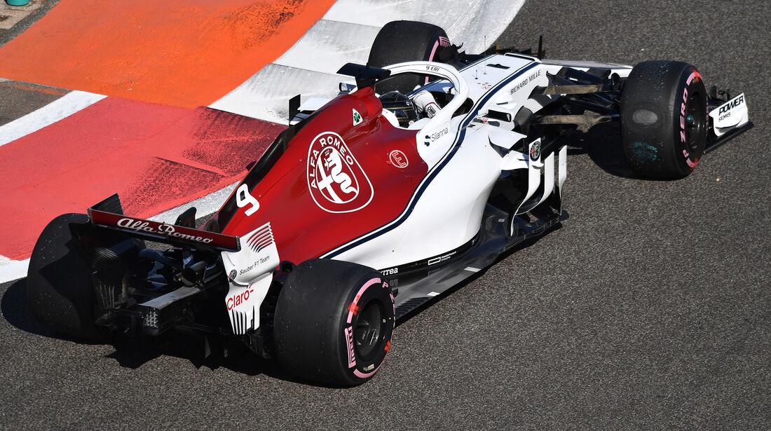 Marcus Ericsson - Sauber - GP Abu Dhabi - Formel 1 - 23. November 2018