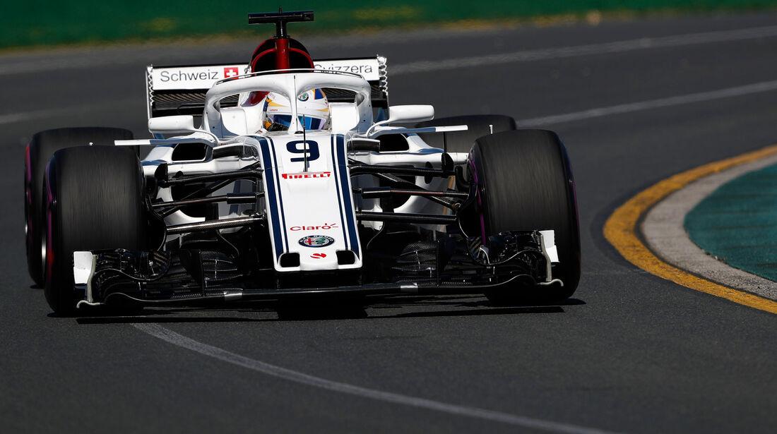 Marcus Ericsson - Sauber - GP Australien 2018 - Melbourne - Albert Park - Freitag - 23.3.2018