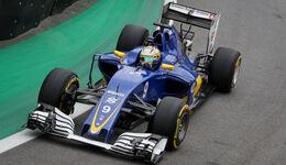 Marcus Ericsson - Sauber - GP Brasilien 2016 - Interlagos - Qualifying