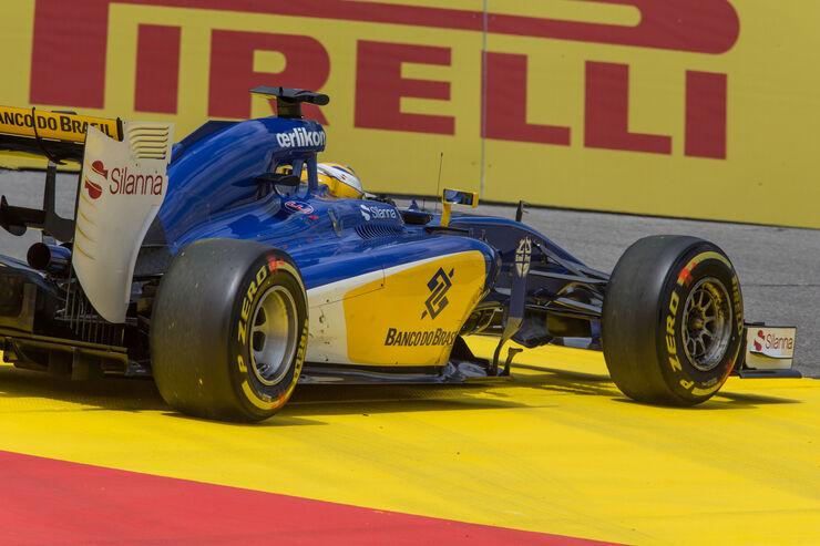 Technik klaut Sauber Punkte: Bremsprobleme und Elektronik-Blackouts