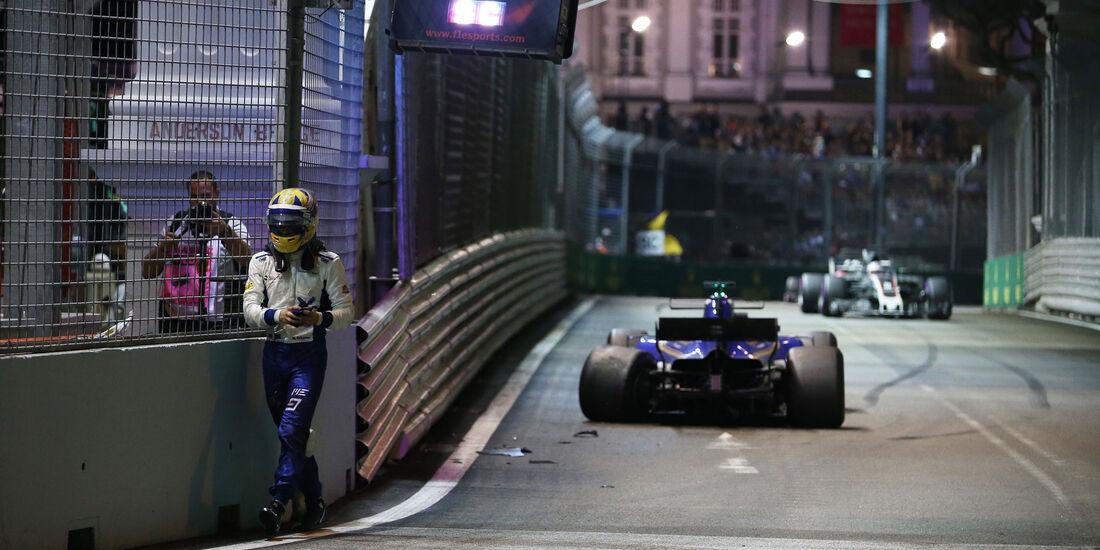Marcus Ericsson - Sauber - GP Singapur 2017 - Rennen