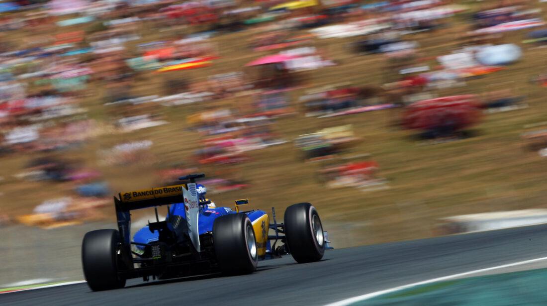 Marcus Ericsson - Sauber - GP Spanien 2015 - Rennen - Sonntag - 10.5.2015