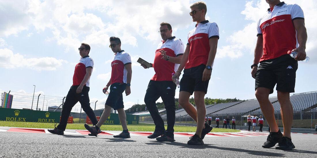 Marcus Ericsson - Sauber - GP Ungarn - Budapest - Formel 1 - Donnerstag - 26.7.2018