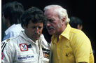 Mario Andretti - Colin Chapman - Lotus - GP Italien 1978
