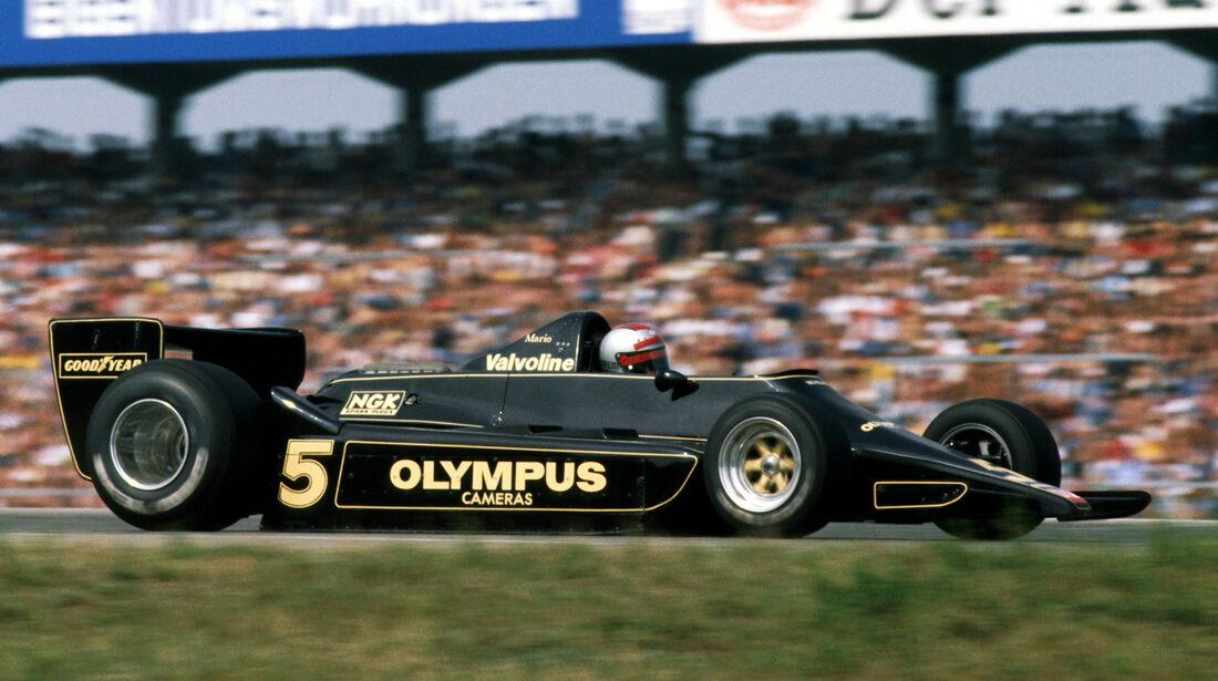 Mario Andretti  - GP Deutschland 1978