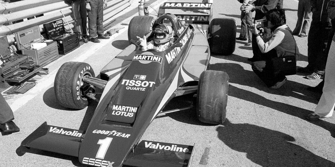 Mario Andretti - Lotus 80 - Jarama 1979