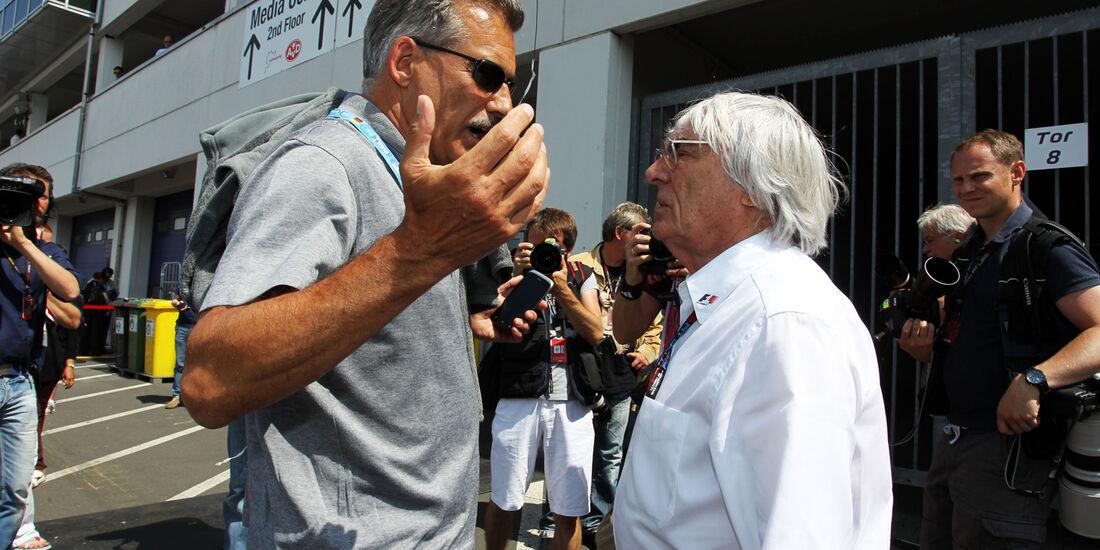 Mario Theissen & Bernie Ecclestone - Formel 1 - GP Deutschland - 6. Juli 2013