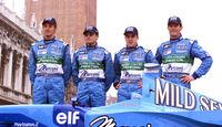 Mark Webber 2001 Benetton