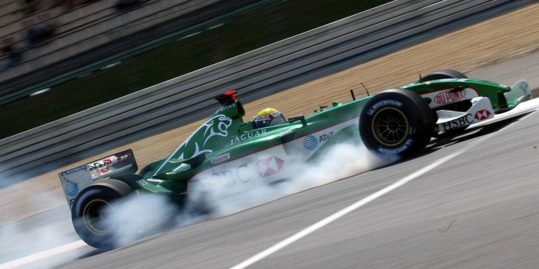 Mark Webber 2003 Jaguar