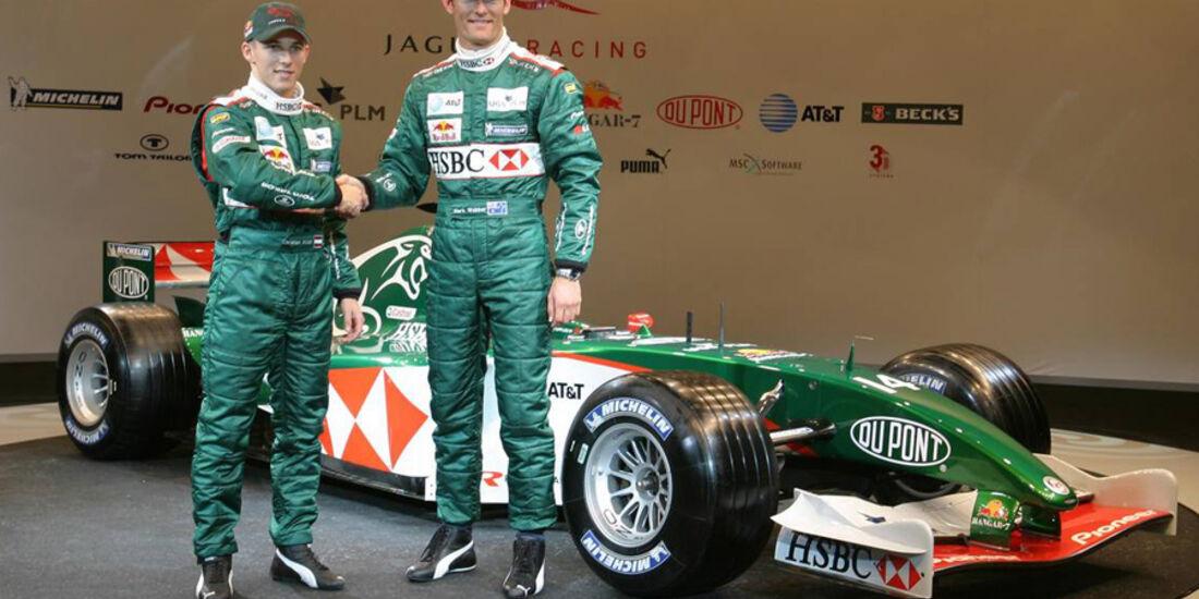 Mark Webber 2004 Jaguar Klien