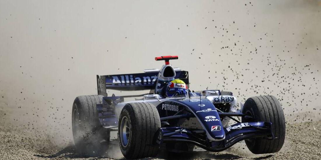 Mark Webber 2006 GP Italien