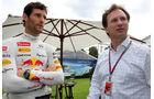 Mark Webber & Christian Horner - GP Australien - Melbourne - 15. März 2012