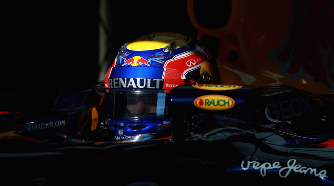 Mark Webber - F1-Test - Barcelona 2012