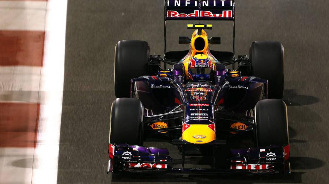 Mark Webber  - Formel 1 - GP Abu Dhabi - 01. November 2013