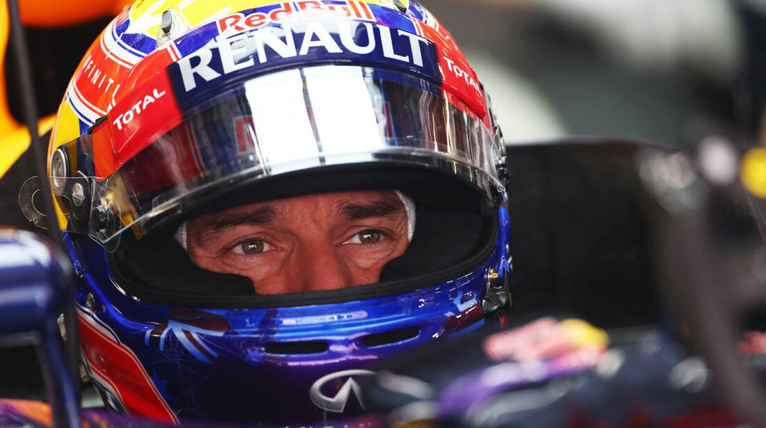 Mark Webber - Formel 1 - GP China - 12. April 2013