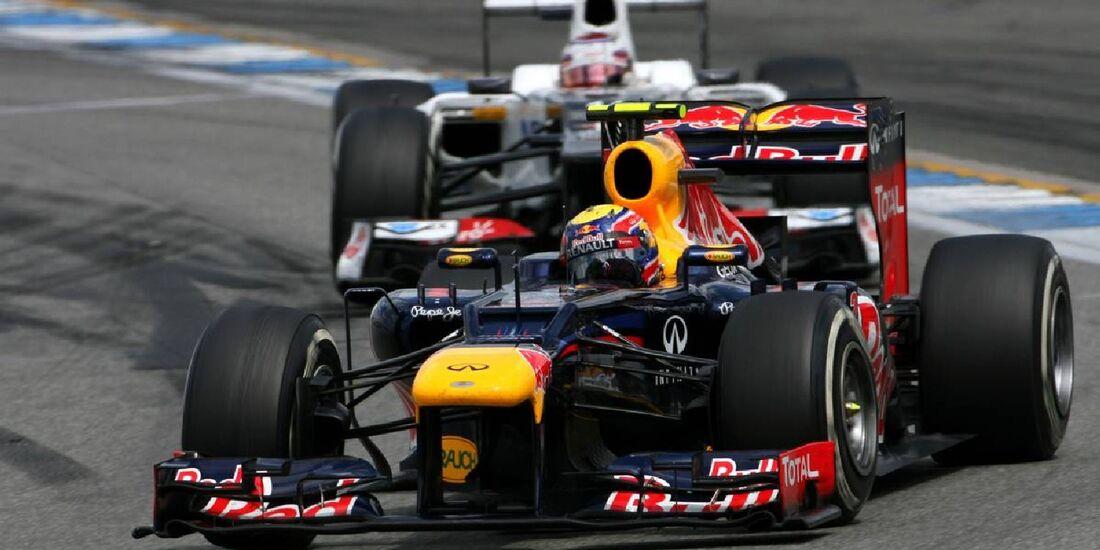 Mark Webber - Formel 1 - GP Deutschland - 22. Juli 2012