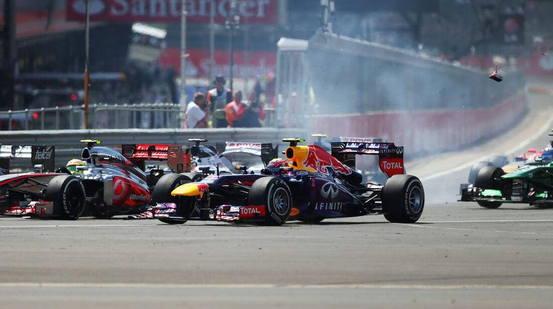 Mark Webber  - Formel 1 - GP England - 30. Juni 2013