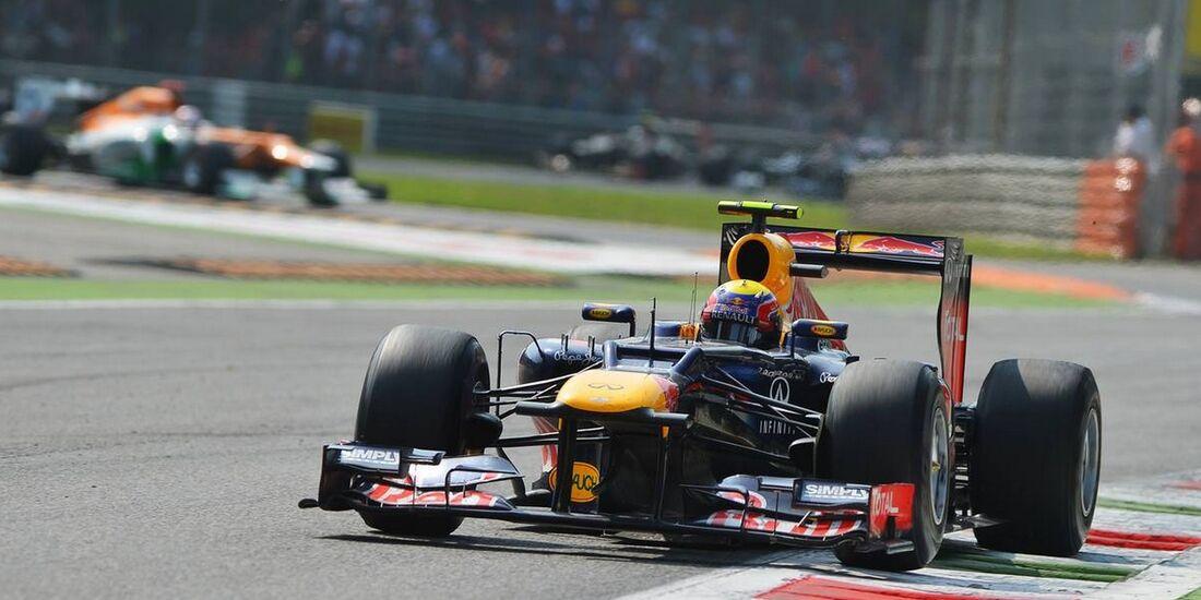 Mark Webber - Formel 1 - GP Italien - 09. September 2012
