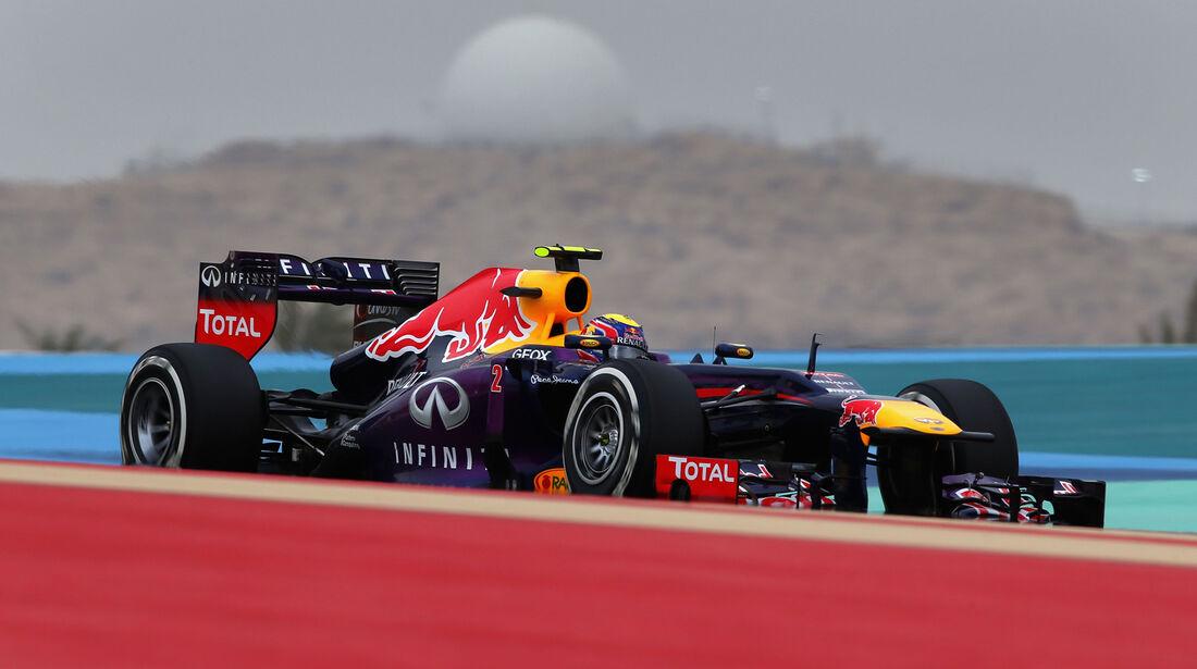 Mark Webber - GP Bahrain 2013
