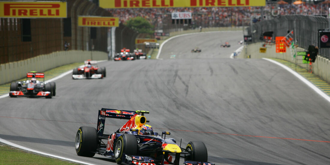 Mark Webber GP Brasilien 2011