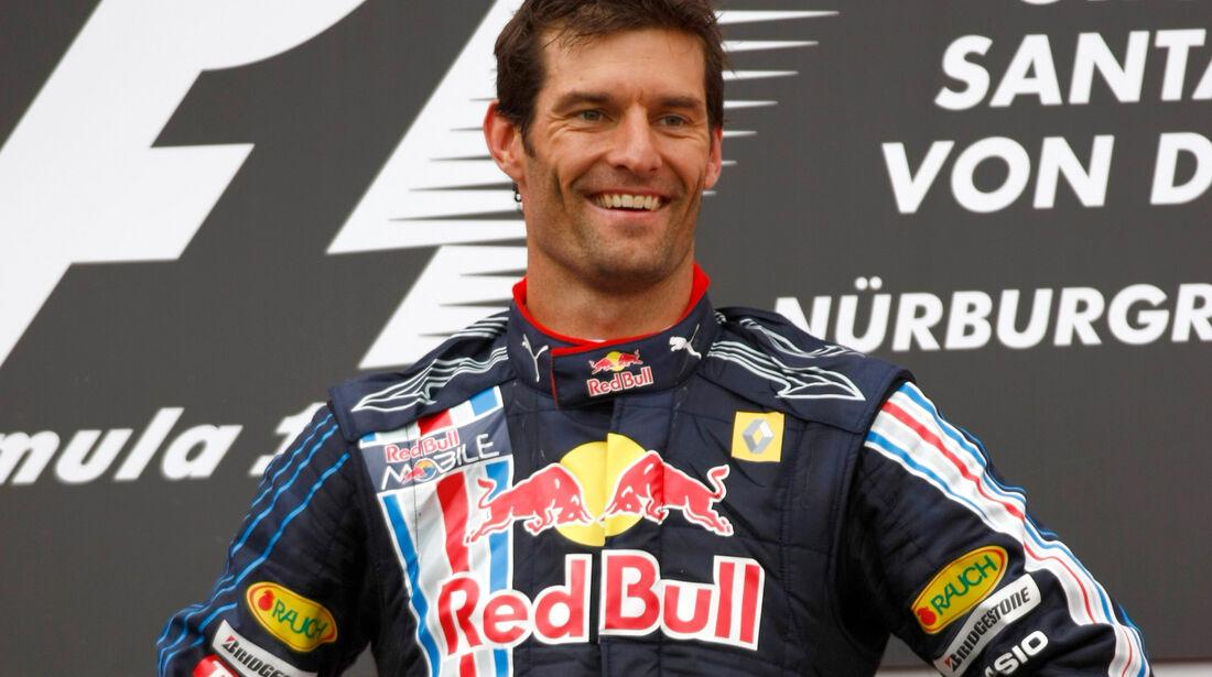 Mark Webber - GP Deutschland 2009